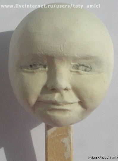 Шарнирная кукла из папье-маше. Часть 9-10
