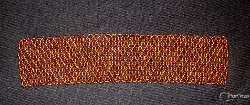делать толстые браслеты из бисера с именами.  Бисероплетение объемные.