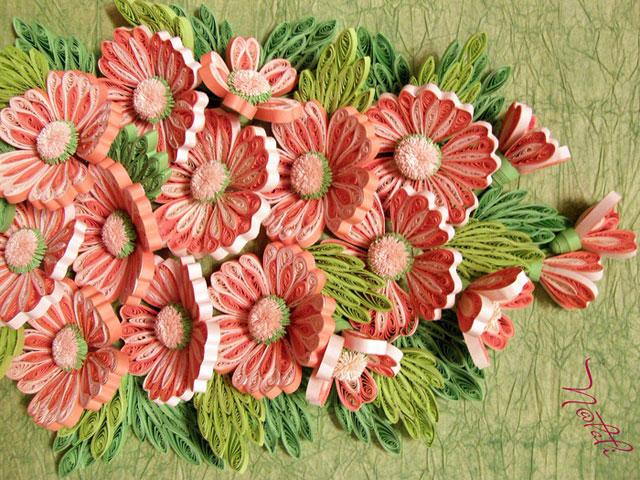 Квиллинг. Цветы