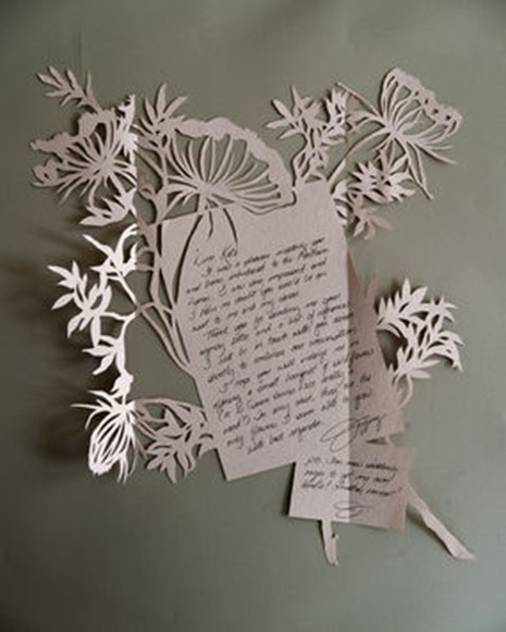 Оригинальное бумажное письмо