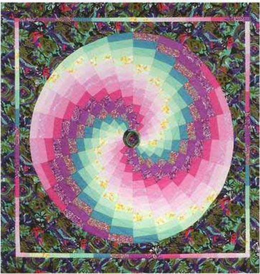 Многоуровневый круг, цветное колесо барджелло