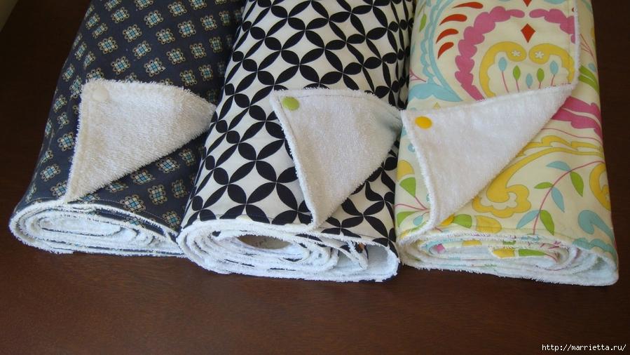 Кухонные полотенца— замена бумажным